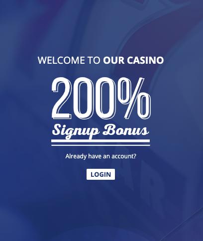 welcome true blue casino bonus
